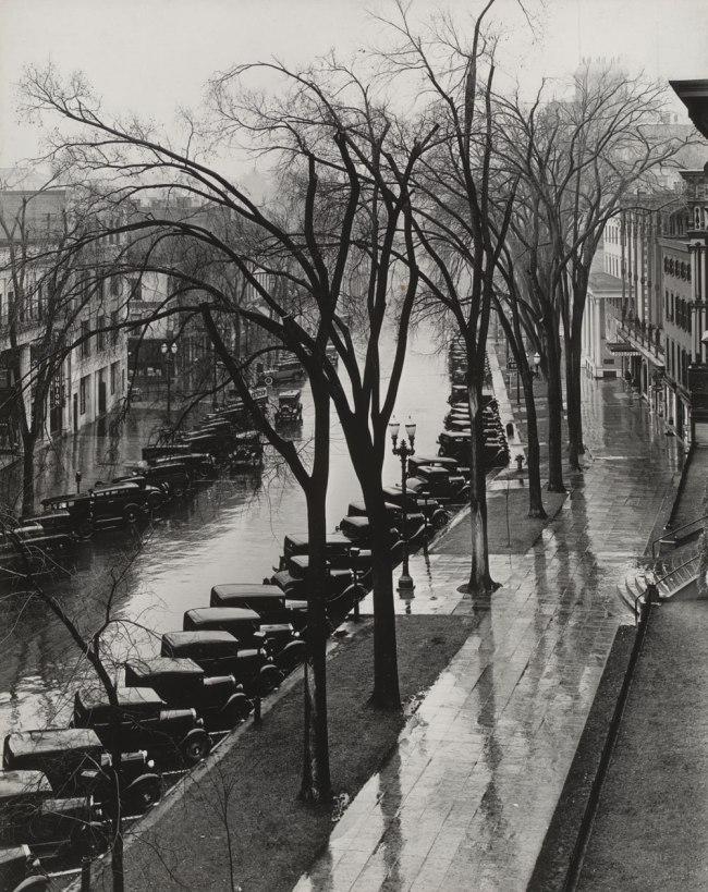 Walker Evans (American, 1903-1975) 'Main Street, Saratoga Springs, New York' 1931