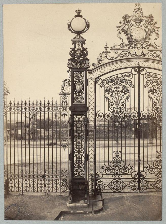 Charles Marville (1813-1879, photographer) 'Parc Monceau' c. 1853 - c. 1870