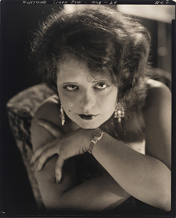 Edward Steichen (American, 1879-1973) 'Actress Clara Bow for Vanity Fair' 1928