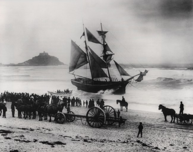 The Gibsons of Scilly. 'Jeune Hortense' 1888