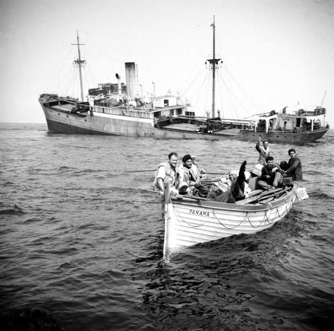 The Gibsons of Scilly. 'The Punta' 1955