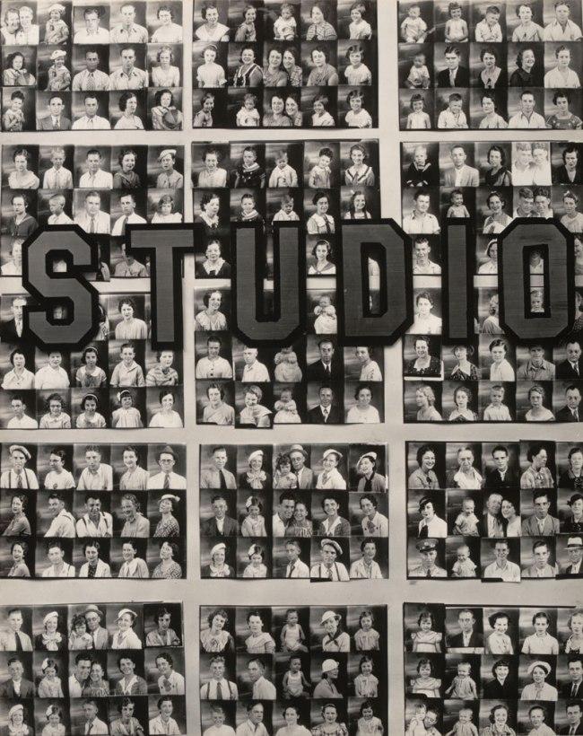 Walker Evans (American, 1903-1975) 'Penny Picture Display, Savannah, Georgia' 1936