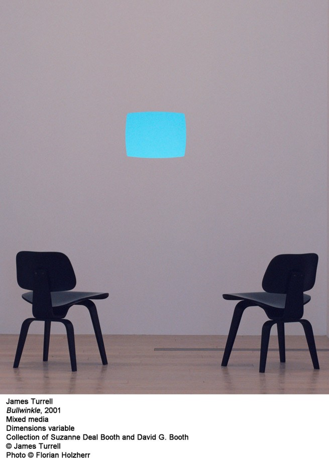 James Turrell. 'Bullwinkle' 2001