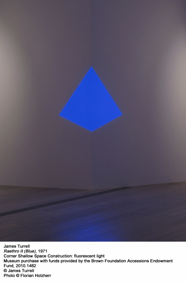 James Turrell. 'Raethro II (Blue)' 1971