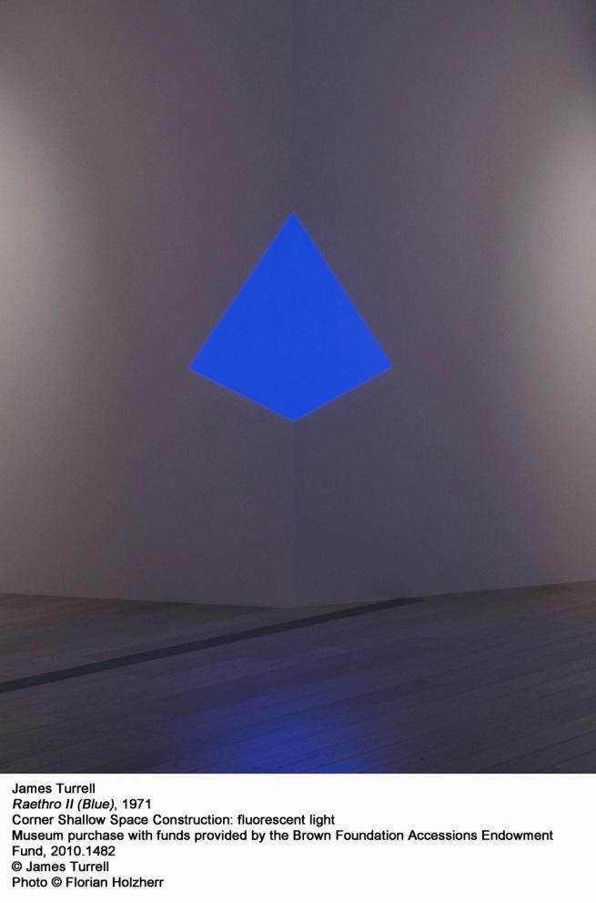 James Turrell. 'Raethro II (Blue)' 1971