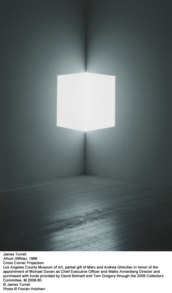 James Turrell. 'Afrum (White)' 1966
