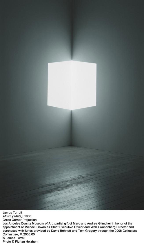 James Turrell. 'Afrum (White)' 1966