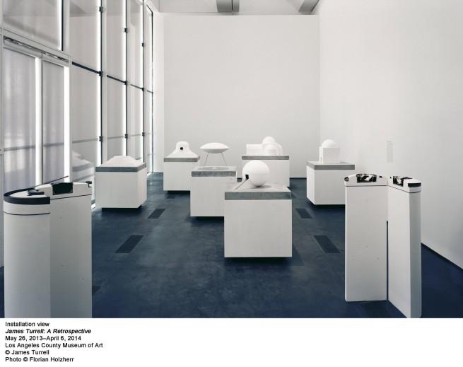 'James Turrell: A Retrospective' installation view at LACMA 2014