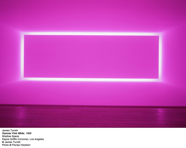 James Turrell. 'Raemar Pink White' 1969