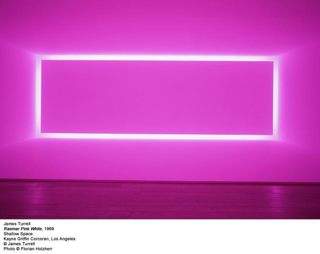 James Turrell. 'Raemar Pink White' 1969