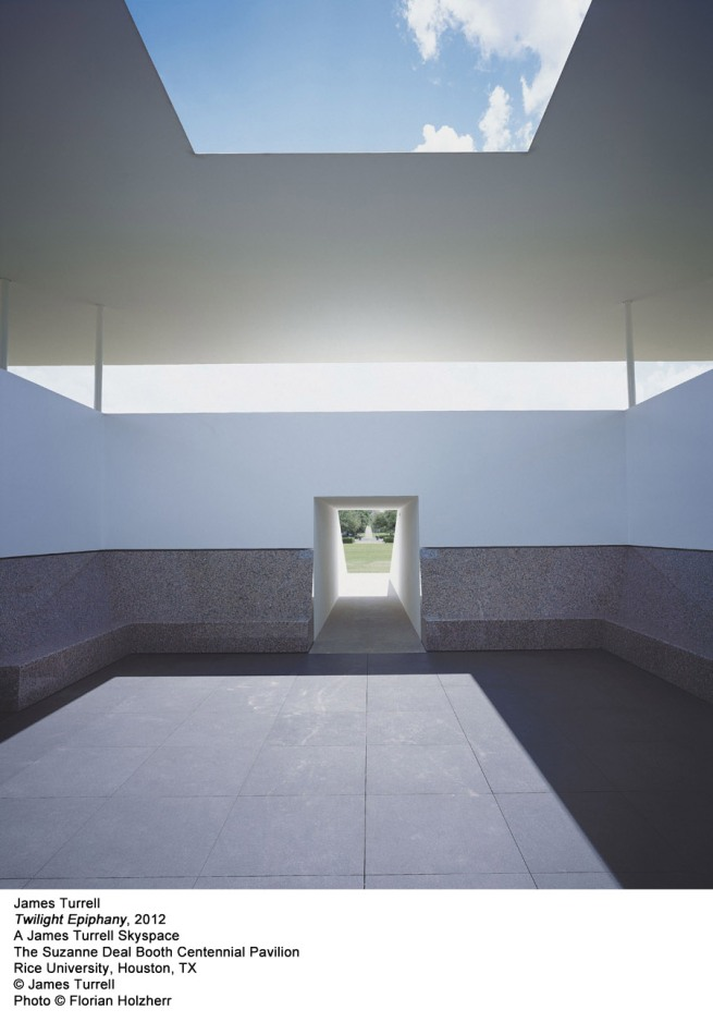 James Turrell. 'Twilight Epiphany' 2012