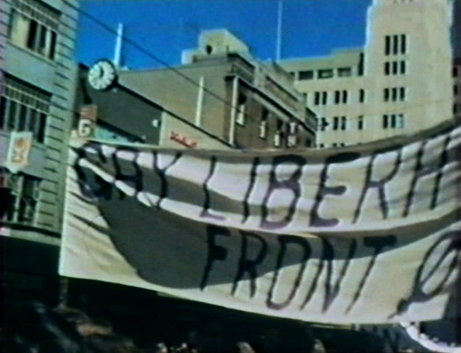 Barbara Creed. 'Stills from a Super 8mm film of a Women's Liberation march' Melbourne, 1973