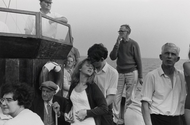 Tony Ray-Jones. 'Beachy Head Tripper Boat, 1967' 1967