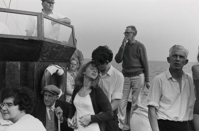 Tony Ray-Jones. 'Beachy Head Tripper Boat, 1967' 1967