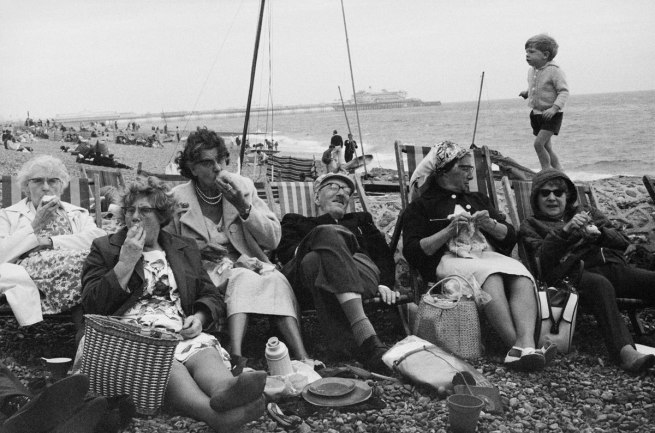 Tony Ray-Jones. 'Brighton Beach, West Sussex, 1966' 1966