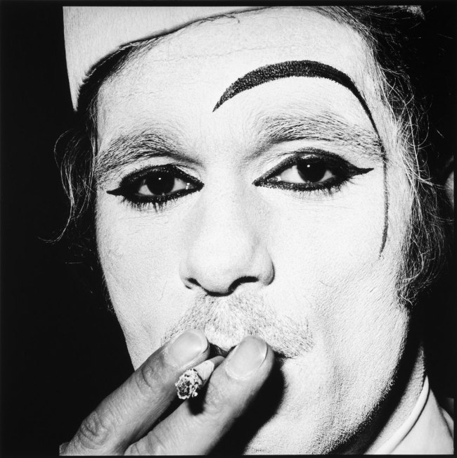 Hans Gedda. 'Addi, the White-Face Clown' c. 1967