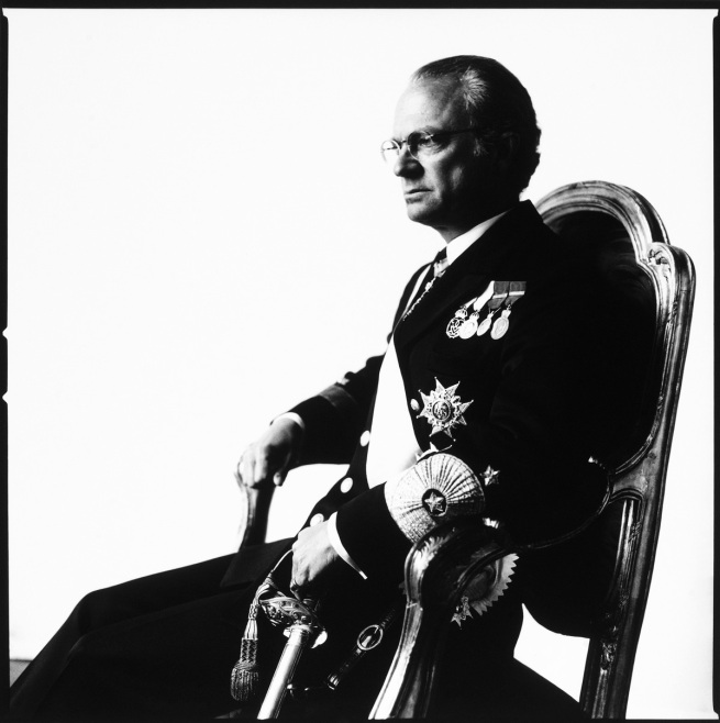 Hans Gedda. 'Carl XVI Gustaf, King of Sweden' 1996