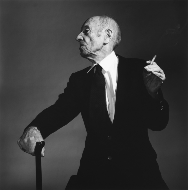 Hans Gedda. 'Man with a Cigarette and Stick' 1995-97