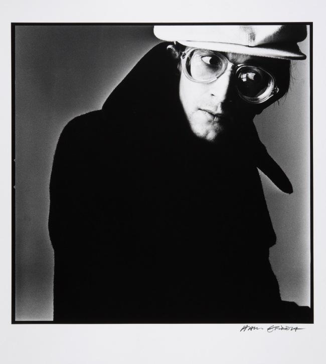Hans Gedda. 'Self Portrait (with Cap)' 1974