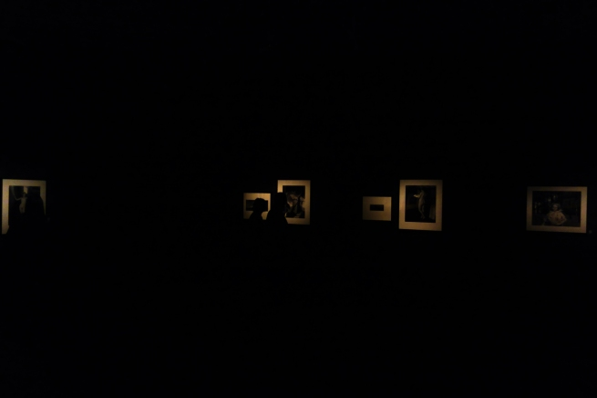 Installation photograph of 'Wildcards: Bill Henson shuffles the deck' at the Monash Gallery of Art