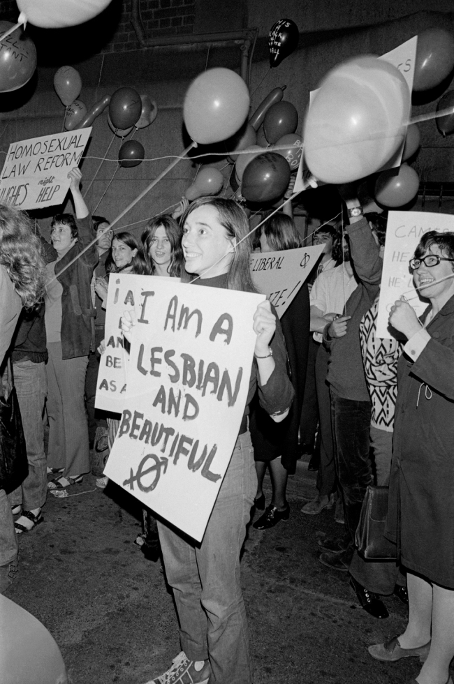 John Storey. 'I am a Lesbian and Beautiful' 1971, printed 2014