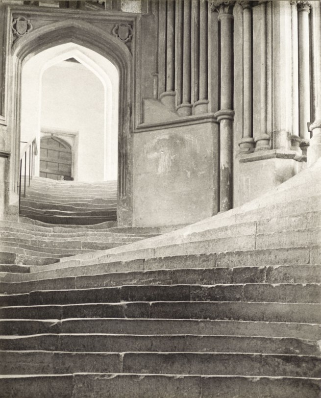 Frederick H. Evans (England, 1853-1943) 'A Sea Of Steps - Wells Cathedral' England, 1903