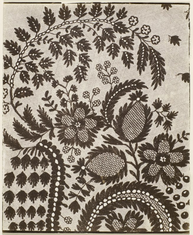 William Henry Fox Talbot (England, 1800-1877) 'Lace' 1841