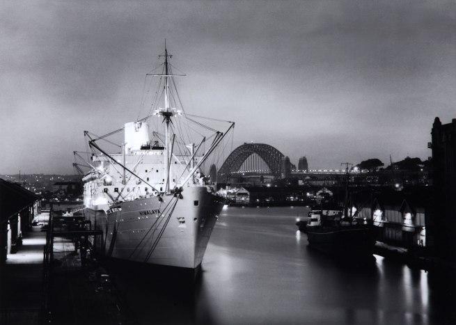 David Moore. 'Himalaya at dusk, Sydney' 1950