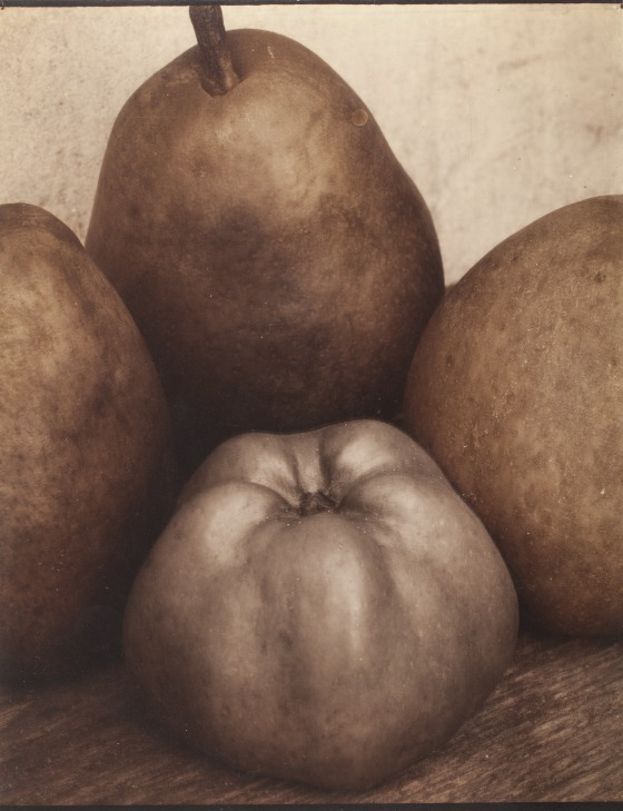 Edward Steichen (Luxembourg, active United States, 1879-1973) 'Three Pears & An Apple' 1921, printed 1921