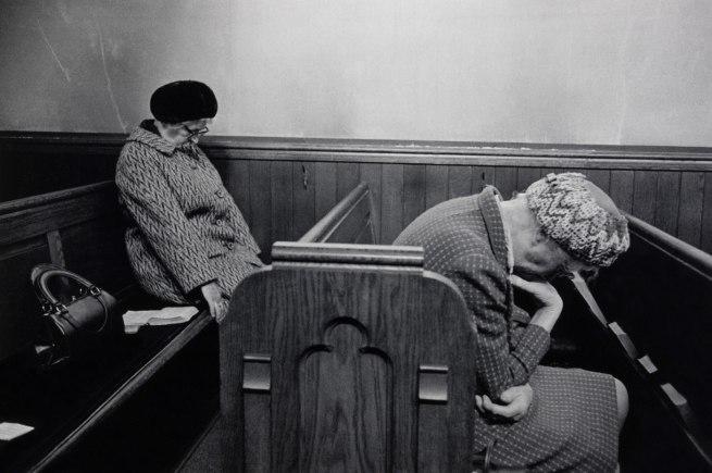 Martin Parr. 'Mankinholes Methodist Chapel, Todmorden' 1975