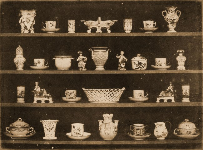 William Henry Fox Talbot (England, 1800-1877) 'Articles of China' c. 1844