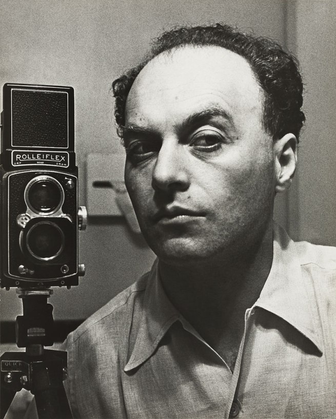 Hermann Landshoff. 'Self-portrait, New York' c. 1942