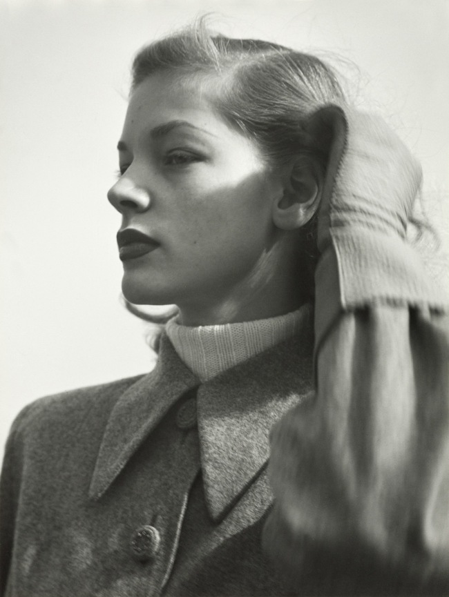 Hermann Landshoff. 'Actress Lauren Bacall, New York, 1945' 1945