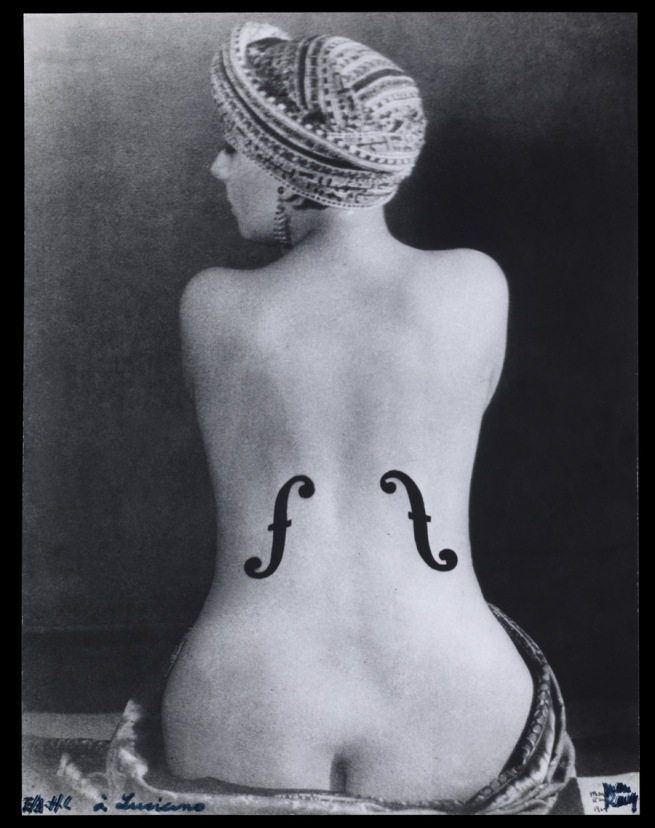 Man Ray. 'Le Violon d'Ingres' (Ingres's Violin or The Hobby) 1924