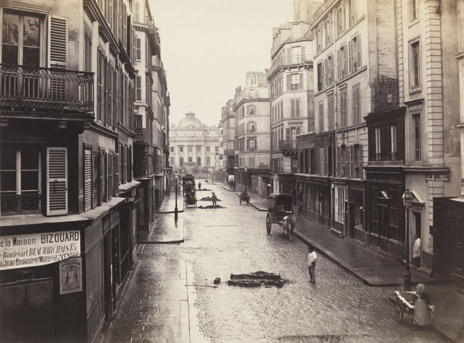 Charles Marville (French, 1813-1879) 'Rue de Constantine (Fourth Arrondissement)' 1866