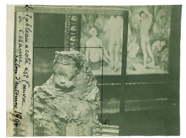 Medardo Rosso(Italian, 1858-1928) ''Enfant à la Bouchée de pain' in the Cézanne room at the Salon d'Automne' 1904