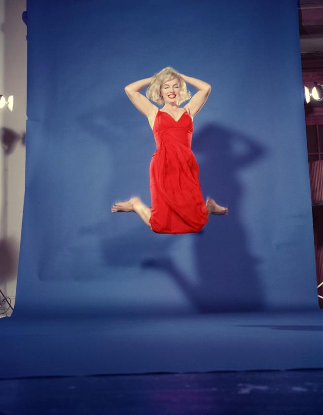 Philippe Halsman. 'Marilyn Monroe jump' 1959