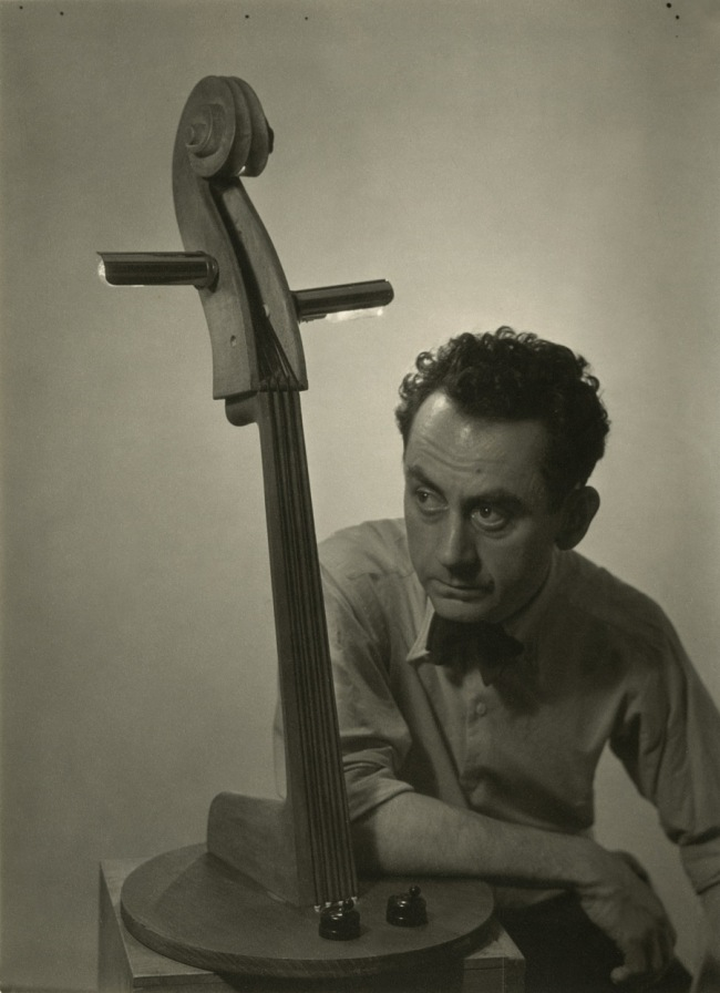 Man Ray. 'Self-portrait with the lamp' 1934