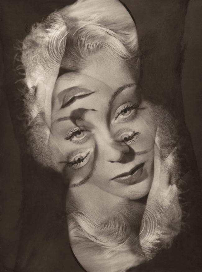 Philippe Halsman. 'Expérimentation pour un portrait de femme (Experimentation for a portrait of a woman)' 1931-1940