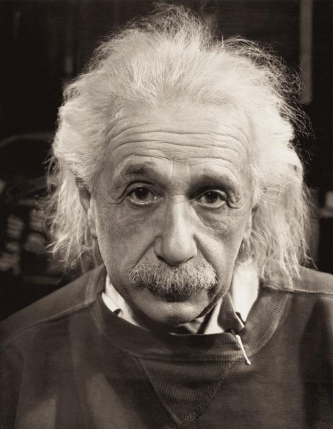 Philippe Halsman. 'Albert Einstein' 1947