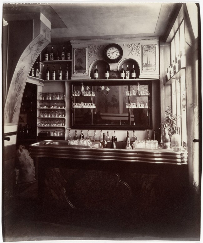 Eugène Atget (French, Libourne 1857-1927 Paris) 'Marchand de Vin, Rue Boyer, Paris' 1910-11