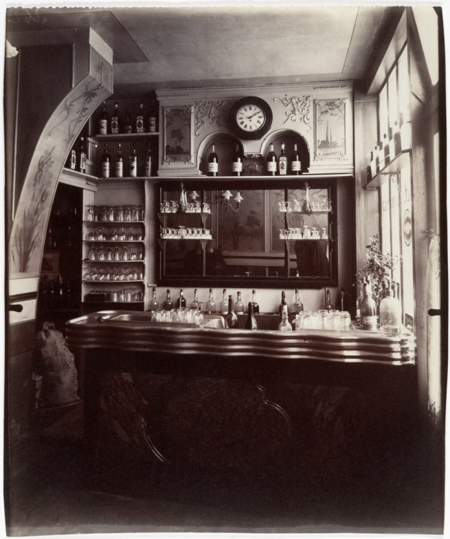Eugène Atget (French, Libourne 1857–1927 Paris) 'Marchand de Vin, Rue Boyer, Paris' 1910-11