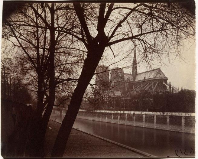 Eugène Atget (French, Libourne 1857-1927 Paris) 'Nôtre Dame' 1922