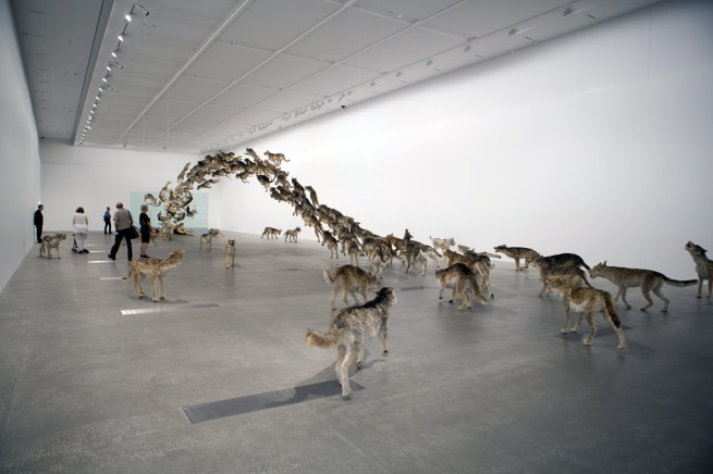 Cai Guo-Qiang (China b. 1957) 'Head On' 2006