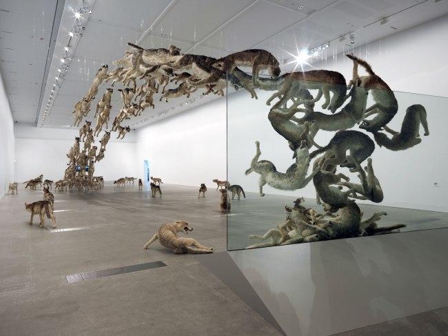 Cai Guo-Qiang (China b. 1957) 'Head On' 2006
