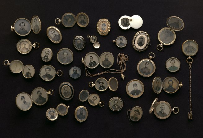 Maker: Unknown '[Civil War Portrait Lockets]' 1860s