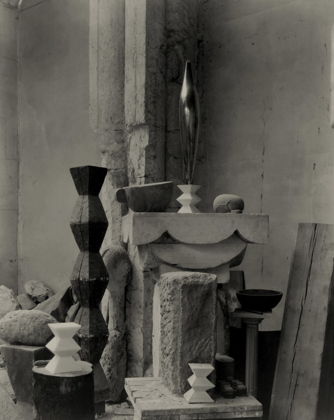 Edward J. Steichen (American (born Luxembourg), Bivange 1879-1973 West Redding, Connecticut) 'Untitled [Brancusi's Studio]' c. 1920