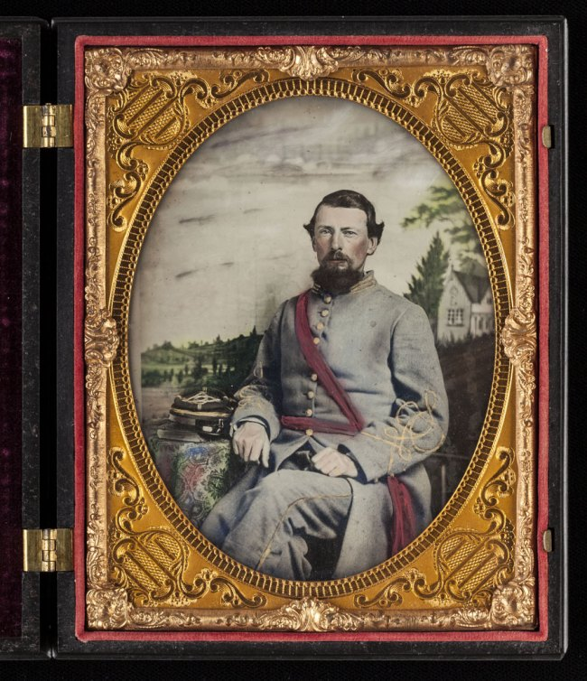 "Unknown '[James A. Holeman, Company A, ""Roxboro Grays,"" Twenty-fourth North Carolina Infantry Regiment, Army of Northern Virginia]' 1861-62"