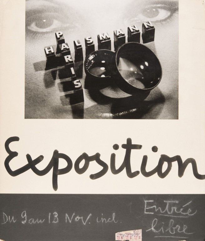 Philippe Halsman. 'Affiche exposition Pleiade (Poster for exhibition at La Pléiade gallery)' 1936