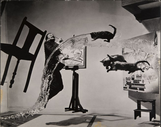Salvador Dalí (Spanish 1904-89, worked in United States 1940-48) Philippe Halsman (Latvian/American 1906-79, worked in France 1931-40) 'Dalí Atomicus' 1948, printed 1981